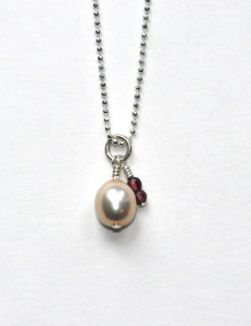 103 collier perle
