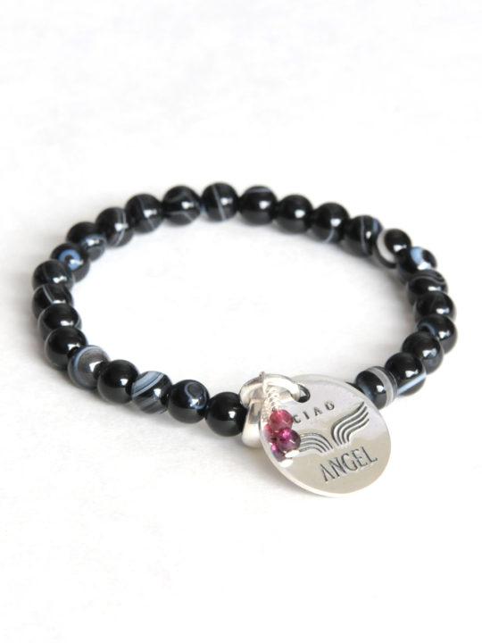 242 bracelet gemme onyx