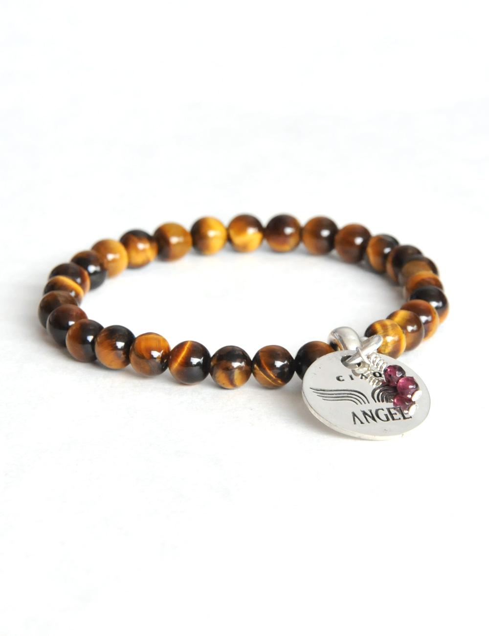243 bracelet gemme tiger eye